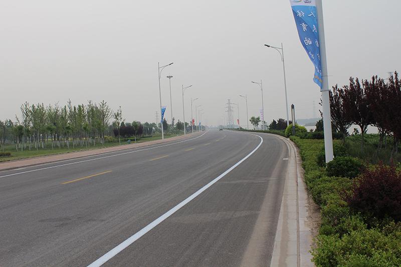 濱河路道路